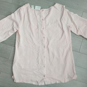 Chico's Tops - Chico's blush pink lace top